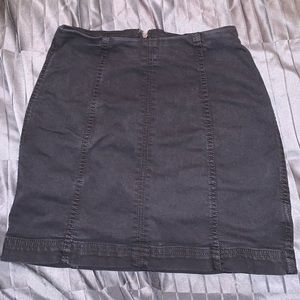 Free People Black Skirt Size Small